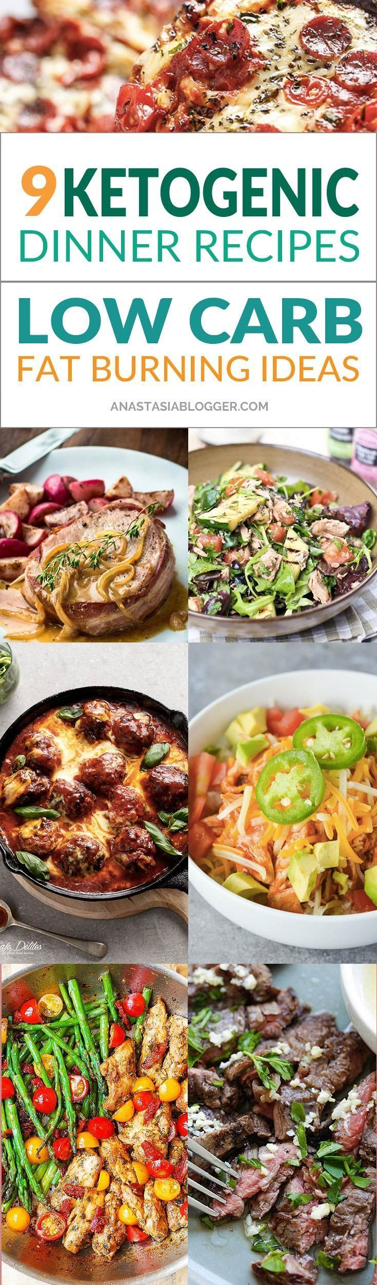 Try these 9 Easy Keto Recipes for a Healthy Dinner for your Ketogenic diet. Improve your keto mealplan with these easy low-carb Keto ideas that will help you burn fat and lose weight faster! Ketogenic fat bombs will help in your winter diet when you need #lowfatdiet