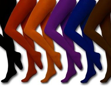 Lovely Legwarmers: 10 Pair of Perfect Fall Tights