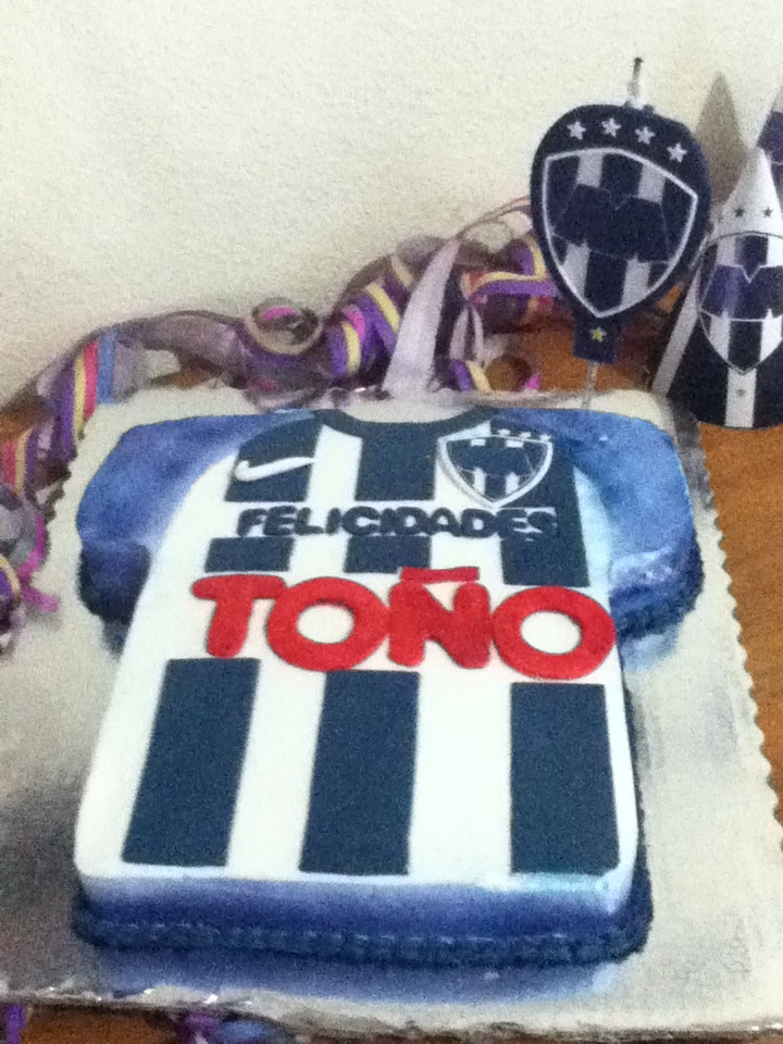 Club De Futbol Monterrey Pastel Rayado Rayados De