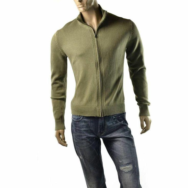 Calvin Klein Sweater Jacket Mens Cardigan Shirt Size L Jumper CK Jeans $79 NEW  | Get Dressed at http://ImageStudio714.com http://stores.ebay.com/ImageStudio714