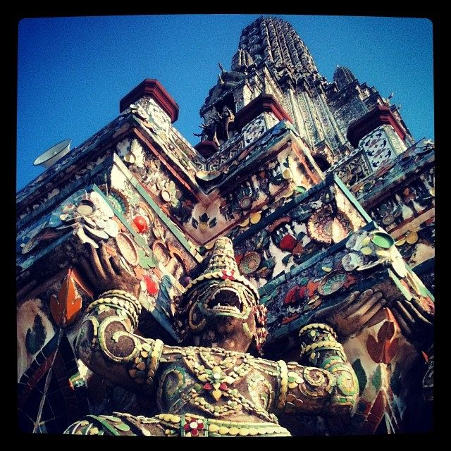 Wat Arun #bangkok #tailandia