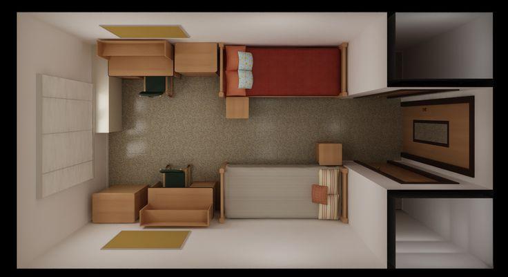 Dorm Rooms Laurel Hall Texas State University