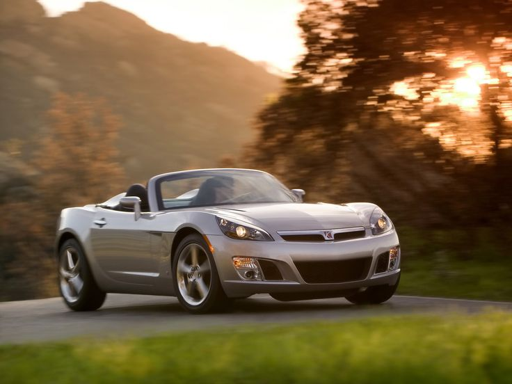 Attractive 2008 Saturn Sky Red Line   Front And Side Speed