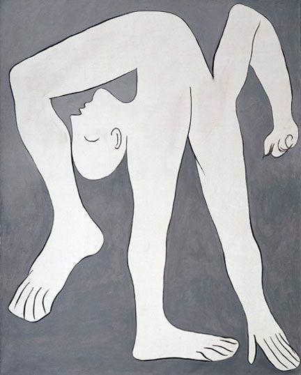 9-L'acrobate de Picasso (1930) , musée Picasso, Paris