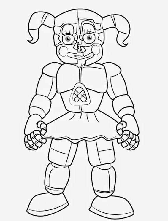 Pin By 333lorie On Fnaf Five Nights Coloring Pages With Images
