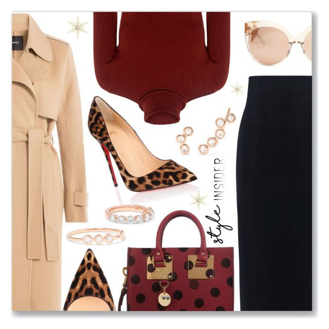 The Office Look by dressedbyrose on Polyvore featuring polyvore, fashion, style, A.L.C., Theory, 10 Crosby Derek Lam, Christian Louboutin, Sophie Hulme, lito, Anita Ko, Linda Farrow and clothing
