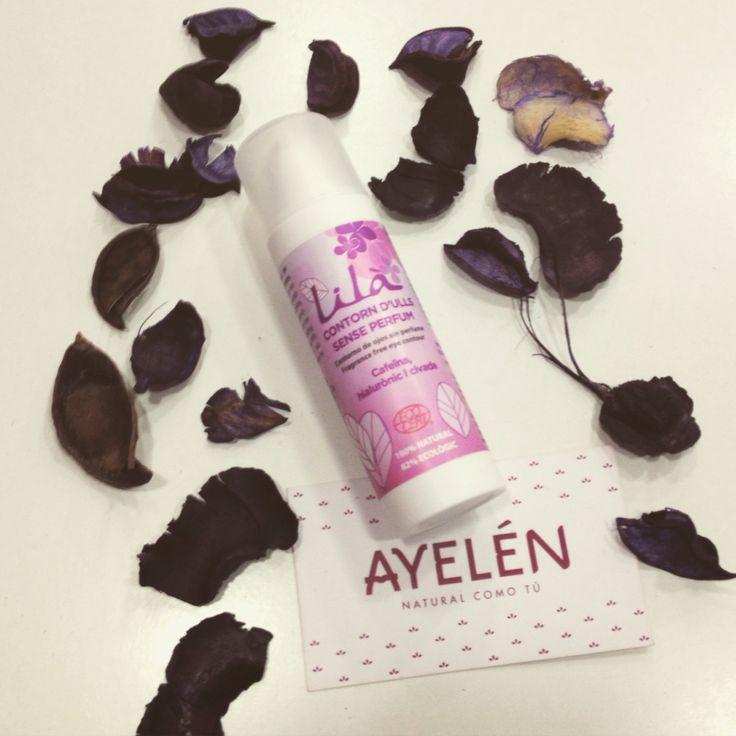 #novedad en #Ayelen, el nuevo #contornoojos de #LilaCosmetics. 100% natural. #revolucionbio #cosméticaecologica