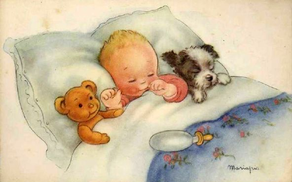 Baby Sleeping...Maria Pia Franzoni