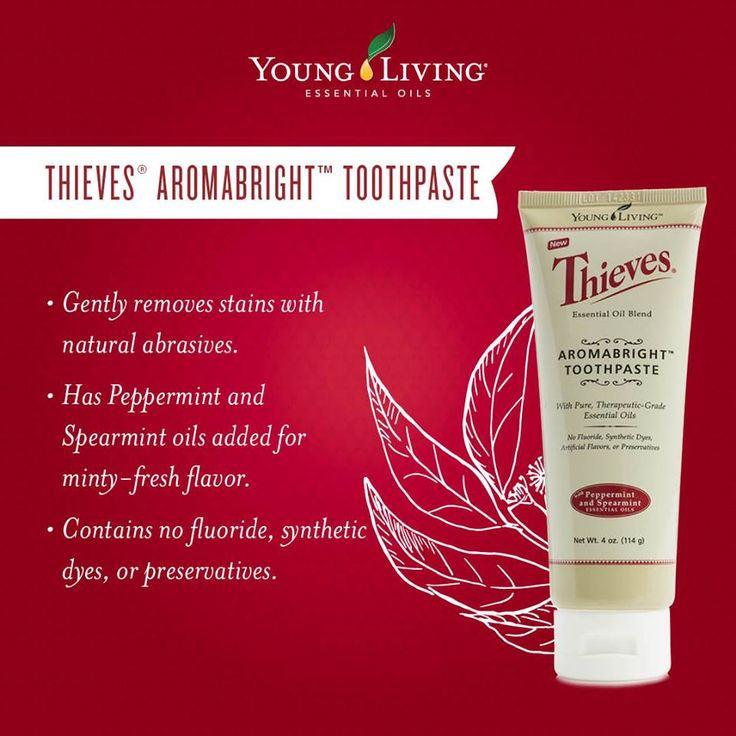WELCOME TO THE WONDERFUL WORLD OF Young Living Essential Oils WEDNESDAY!!! Essential oil favorites such as Peppermint, Spearmint, and Cinnamon Bark give this toothpaste a sweet mint flavor, meaning you don't sacrifice anything with AromaBright. You'll ditch the ingredients you don't want and keep all the results you do: a deep clean, bright teeth, and fresh breath! I am NEVER without this amazing toothpaste for me and my hubby! Your teeth will feel the cleanest they have ever felt!