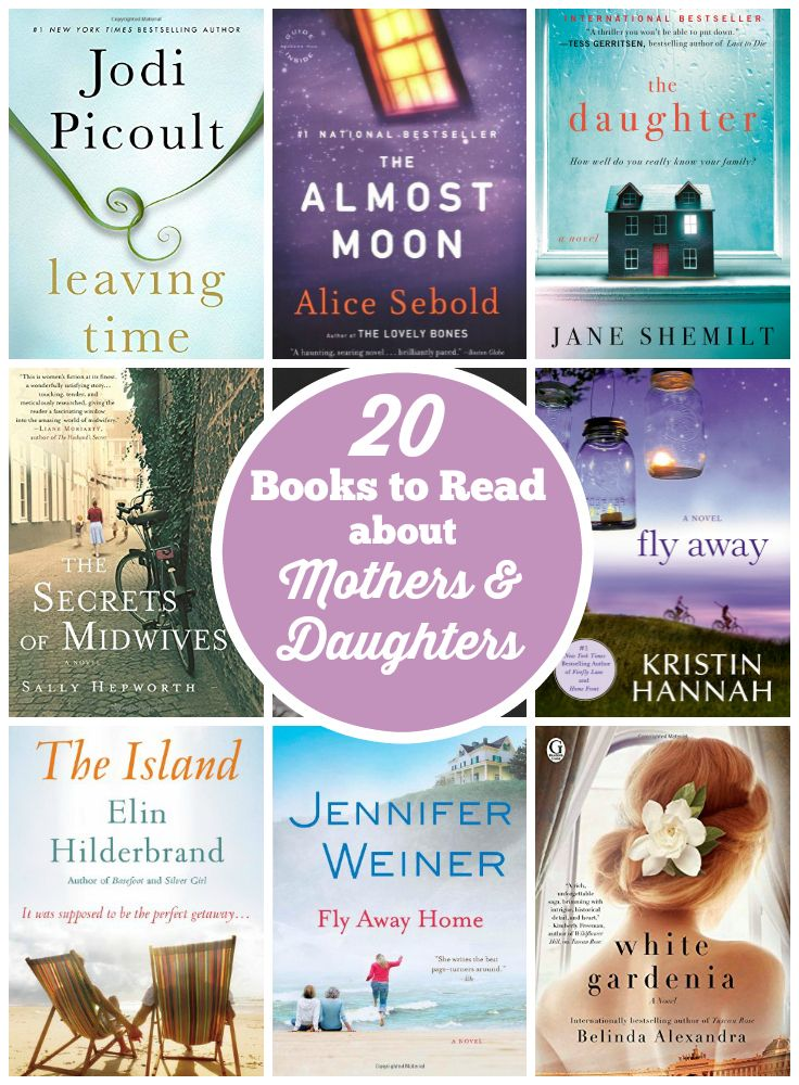 20 Books to Read about Mothers & Daughters