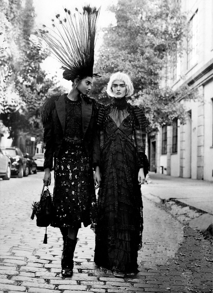 """Imaan Hammam and Sam Rollinson in """"More Is More"""" for Vogue US January 2014 photographed by Craig McDean"""