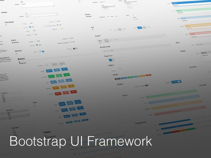 Bootsketch UI Framework