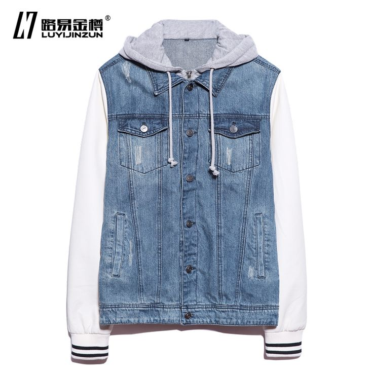 Denim bomber jacket- BuyWithAgents