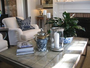 Love the coffee table vignette. hamptons interior design style | Hamptons Interior Designers Design Ideas, Pictures, Remodel, and Decor