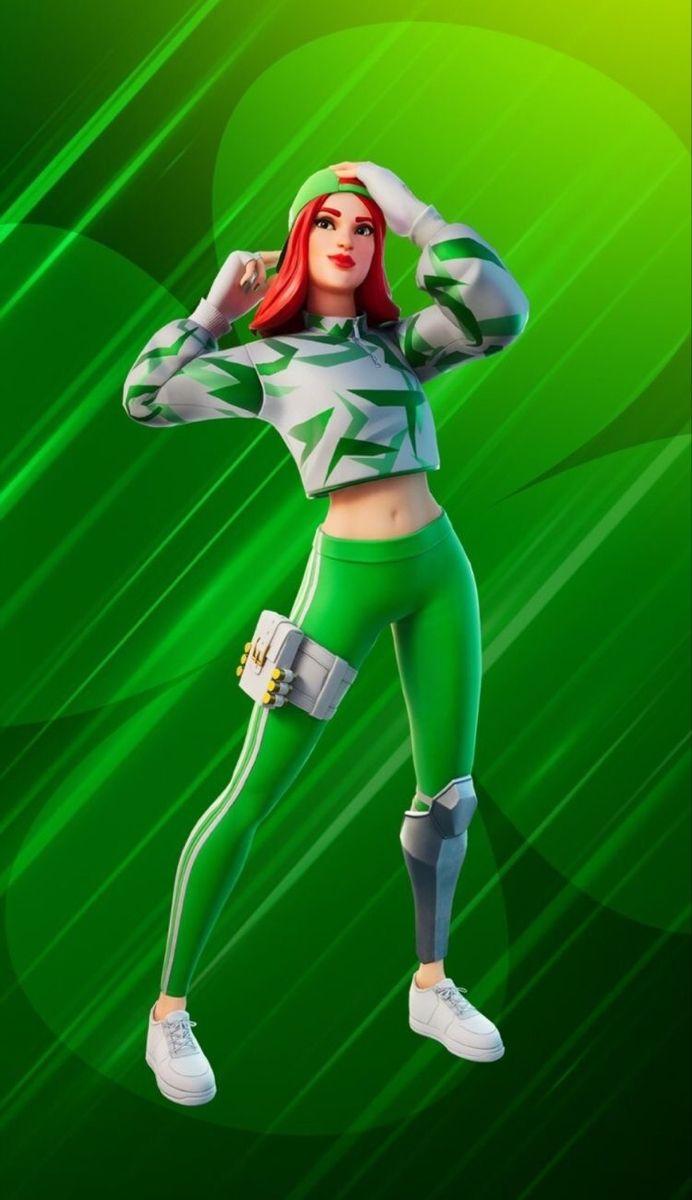 Fortnite In 2020 Gamer Girl Green Girl Best Gaming Wallpapers