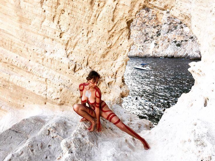 Giada Yu Gilardoni Body Painting Ibiza, 2016