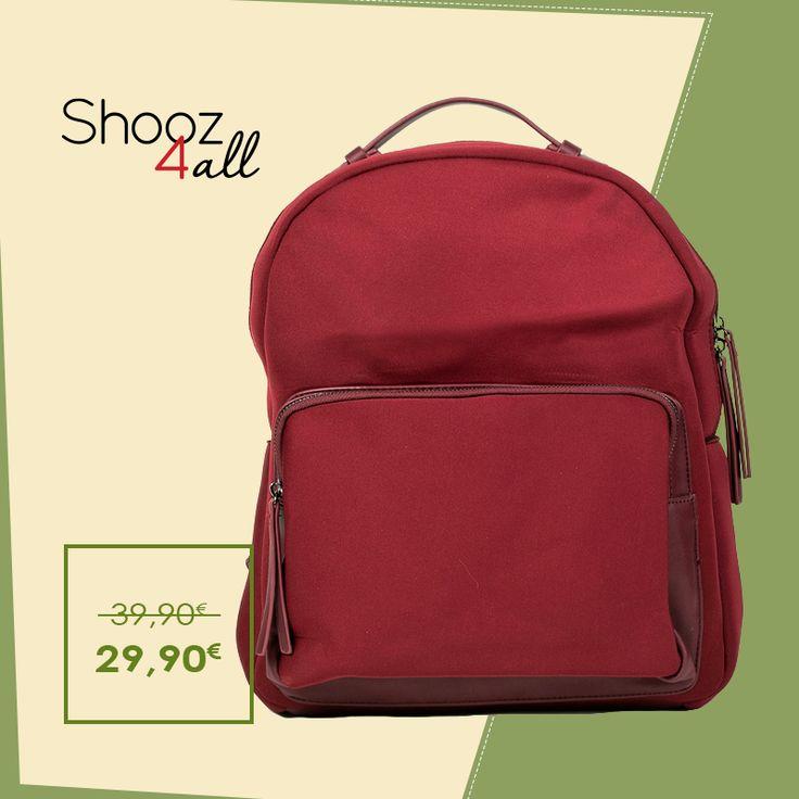 Backpack από neoprene ύφασμα. http://www.shooz4all.com/el/gynaikeies-tsantes/backpacks/backpack-apo-neoprene-yfasma-dzh951-detail #shooz4all #backpack
