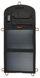 Exibel solcellelader med USB 10 W