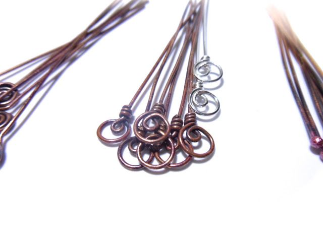 how to make the headpins in the center - free DIY Tutorial