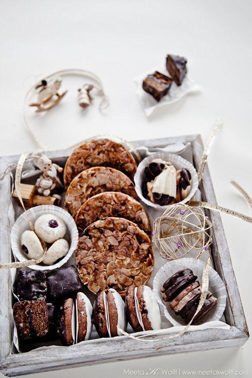 boîte de biscuits maison