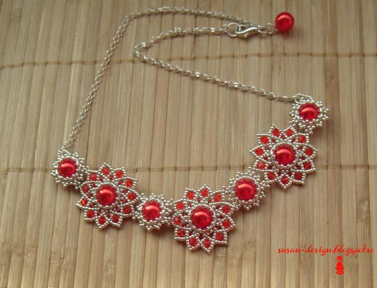Really pretty necklaces on this site - nothing TOO complicated, but not easy either. Just the way I like it!