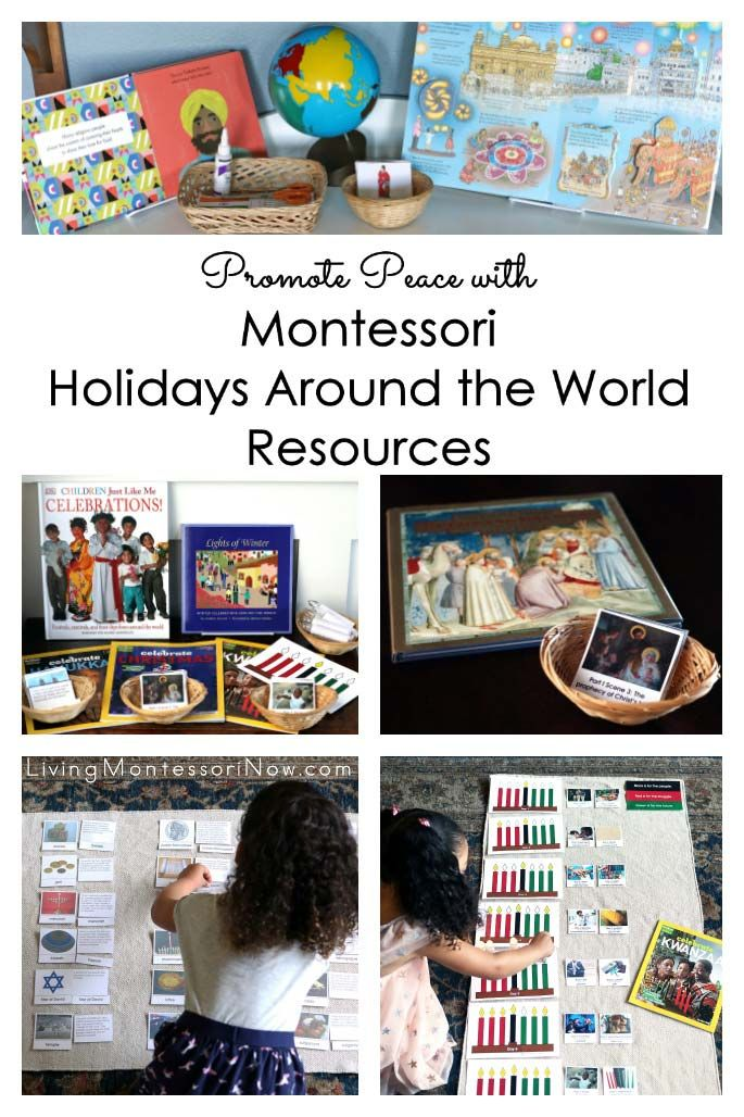 Promote Peace With Montessori Holidays Around The World Resources