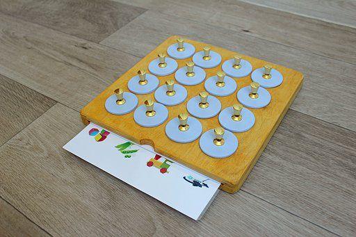 Яркая и интересная игрушка Мемори для тренировки памяти в сиреневом цвете Возраст от 2 лет