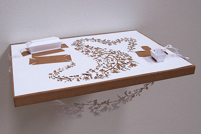Intricate, Meaningful Paper Art by Peter Callesen 3 - https://www.facebook.com/different.solutions.page