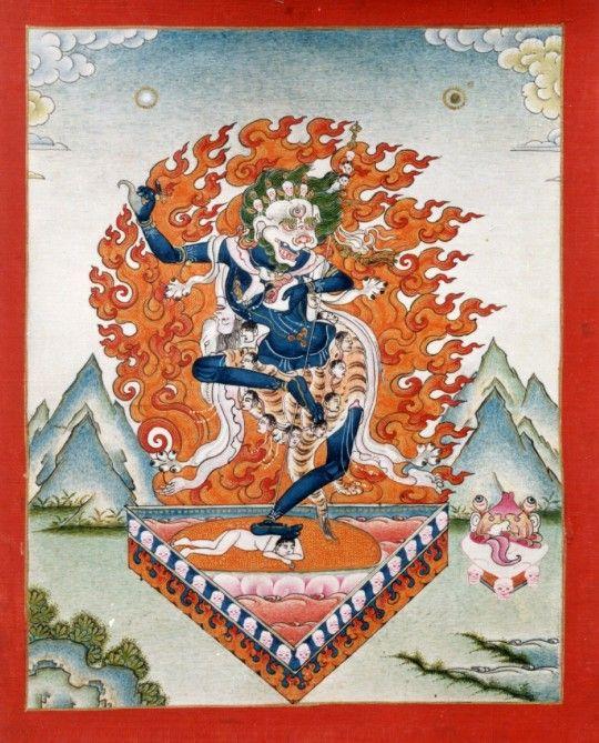 Защитные буддийские практики. Симкхамукха - Религия - Буддизм