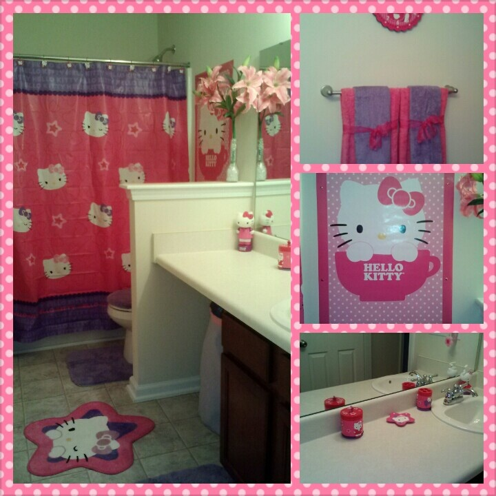 25 best images about hello kitty bathroom on pinterest. Black Bedroom Furniture Sets. Home Design Ideas