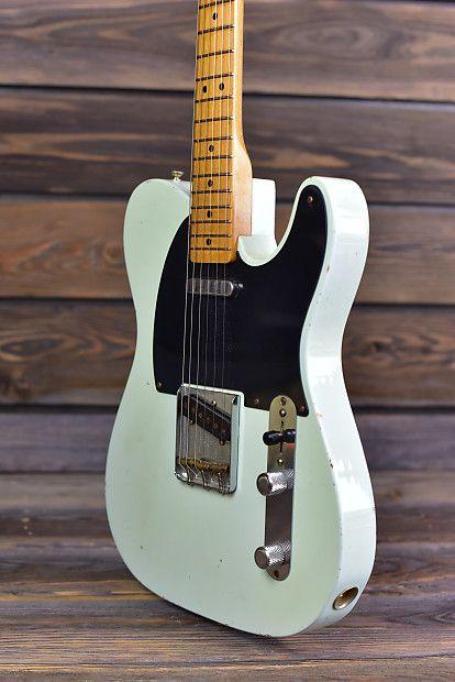 Fender Dealer Select 55 Wildwood 10 Telecaster Sonic Blue River City Guitars Llc Reverb Telecaster Guitar Telecaster Guitar