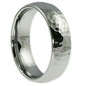 Hammered Tungsten Rings Are Best Ing Mens Wedding Band Styles That Feature A Unique Finish Gives The Earance Of Marks