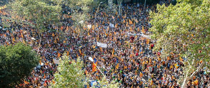 #Barcelona, Capital of a New Country - Part 1. #Catalan #people wish to determine their #future in a #democratic and #peaceful nature. The only response to this from #Spain has been that it is against the #Spanish #Constitution, citing #paragraphs from an #outdated document that doesn't stand up to #modern #politics. #Spain is a very #young #democracy and demonstrates this clearly to the world in that it is #incapable of dealing democratically with issues such as the right to…