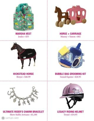 Check out the Troxel Legacy pink unicorn helmet from the Holiday Guide
