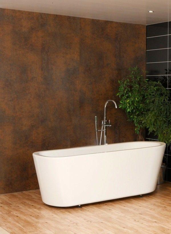 Die besten 25+ bronze Badezimmer Ideen auf Pinterest Kupfer - tapeten badezimmer geeignet