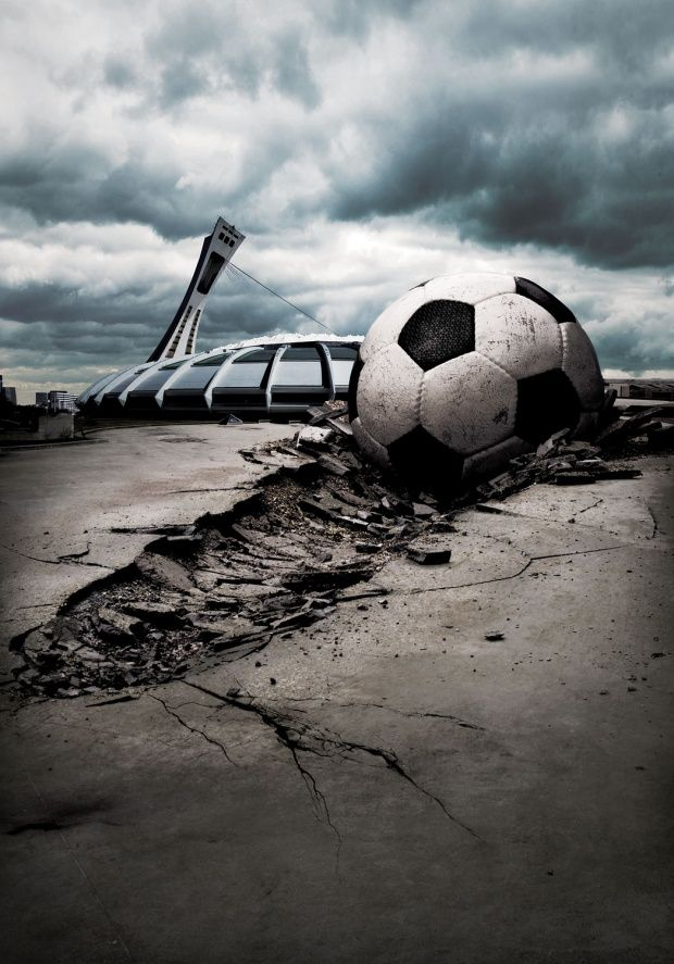 Brazil Soccer World Cup is coming......... Advertisments by Peter Sutherland