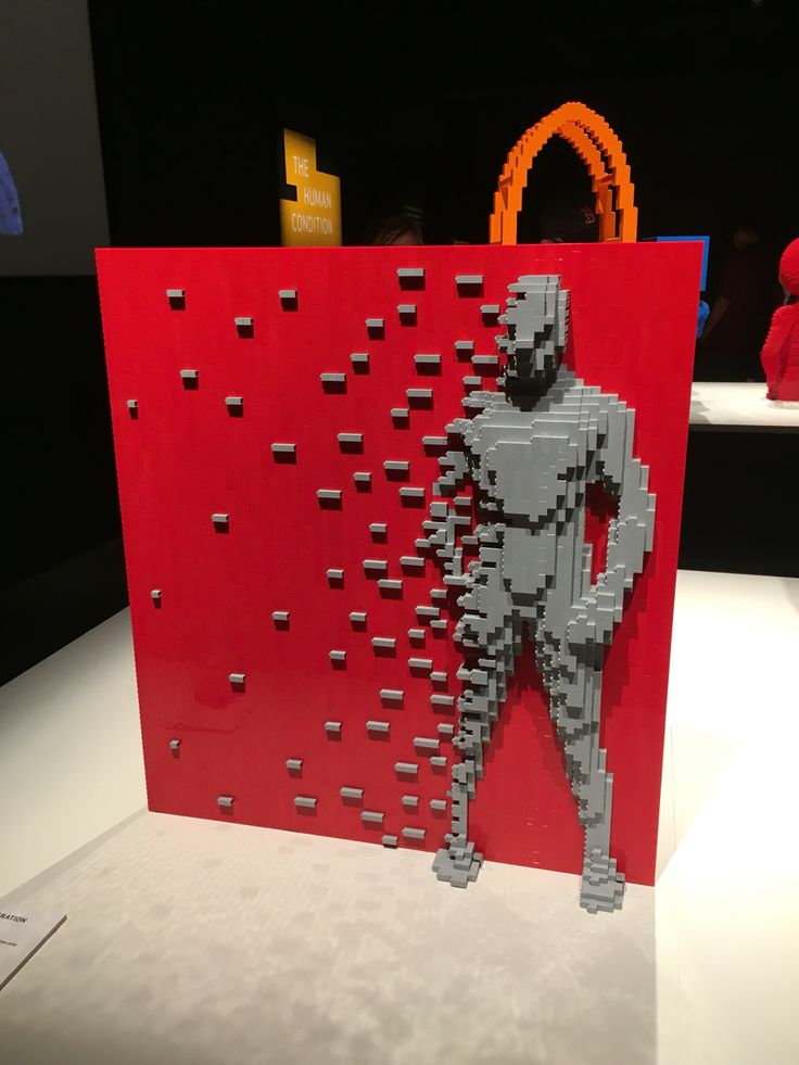I got to see the Art of the Brick exhibit at the Cincinnati Museum ...