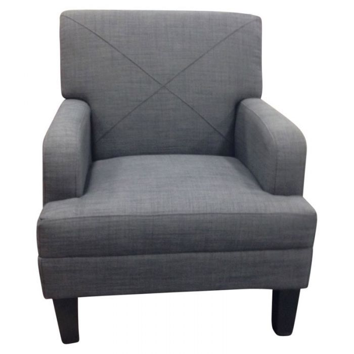 Best Tabitha Charcoal Accent Chair Accent Chairs Grey Accent 400 x 300