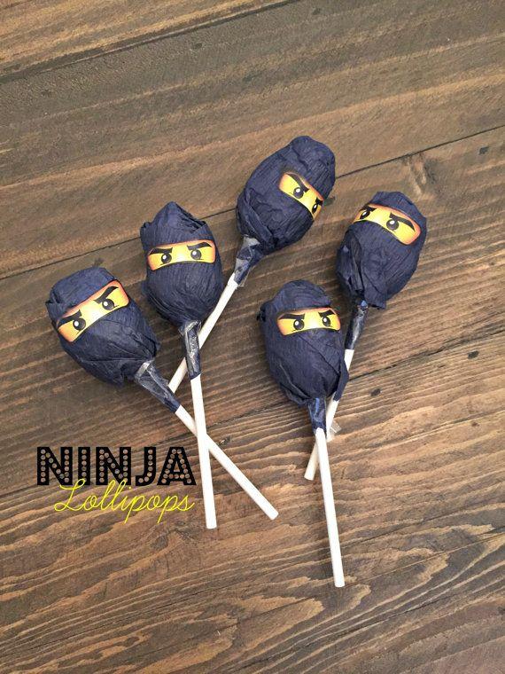 4 maten Ninjago ogen voor Birthday Party door SALTEDDesignStudio