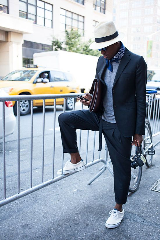 New York mens street fashion & style