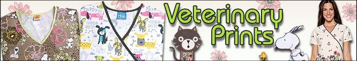 Veterinary scrubs