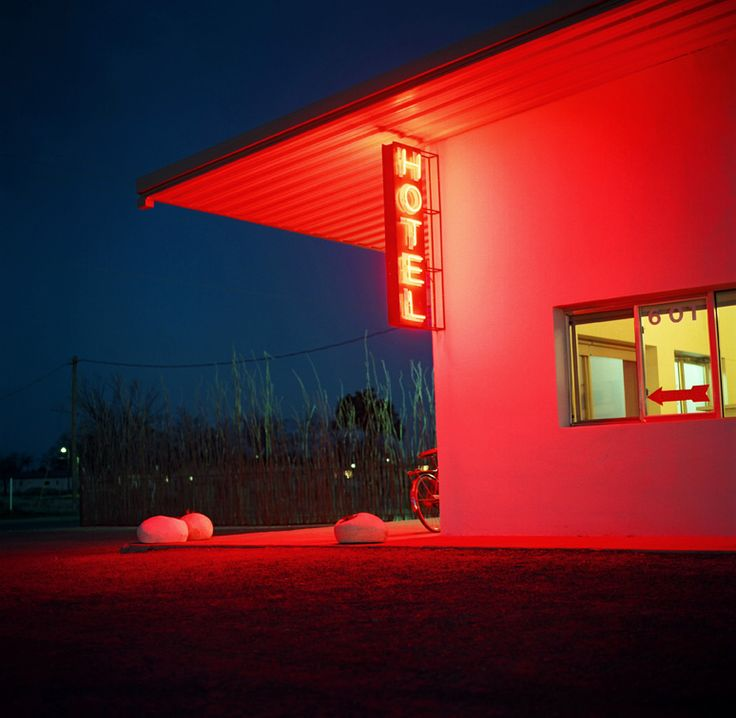 Marfa Neon Signs Neon Noir Night Photography Neon