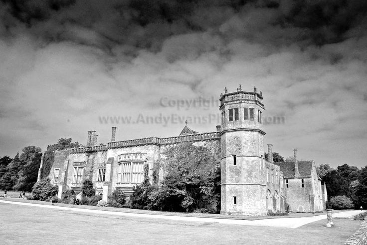 Lacock Abbey, Lacock, Wiltshire, England b/w photograph by Andy Evans Photos #lacock #photograph #picture