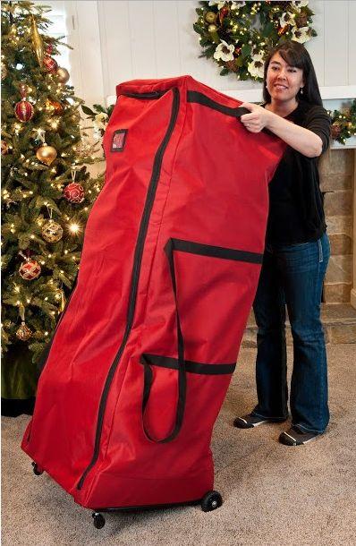 Great for Christmas tree storage!  TreeKeeper Santas Bags Premium Christmas Tree Dolly Extra Large Storage Bag