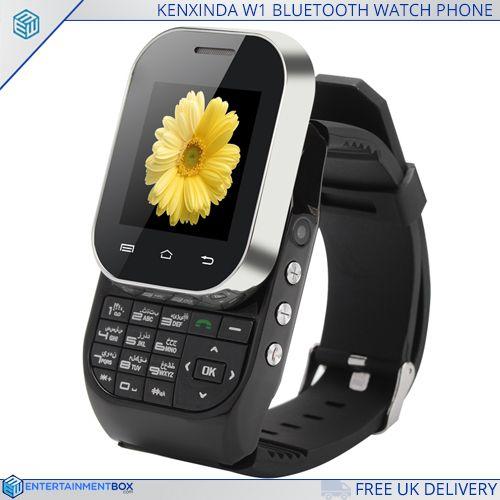 KenXinDa W1 Bluetooth Watch Phone - https://www.entertainmentbox.com/56317-2-kenxinda-w1/