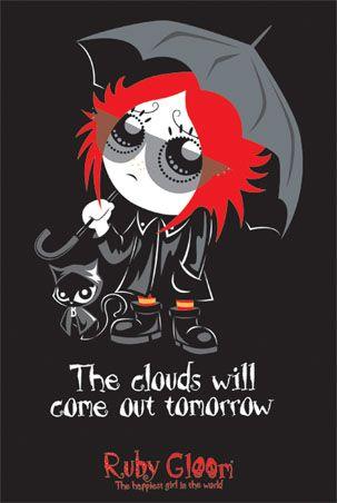 ruby gloom | Blog 25: [Desenho Animado Infanto-Juvenil] Ruby Gloom