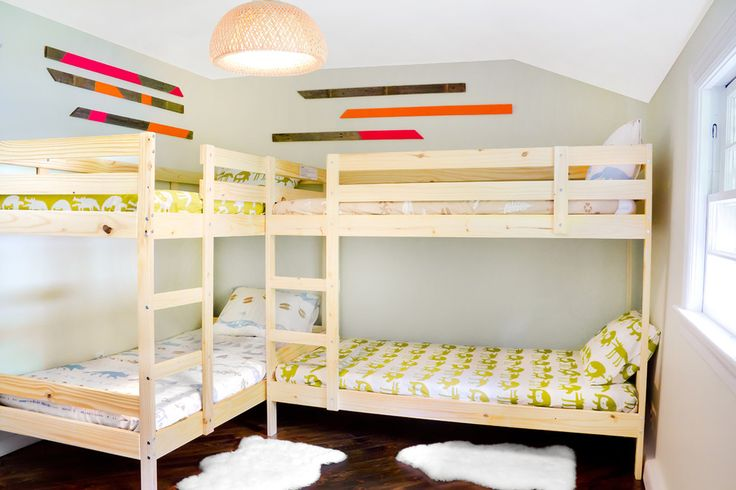Awe-Inspiring Bunk Bed With Trundle Ikea Decorating Ideas Images in Kids Rustic design ideas