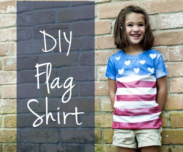 homemade 4th july t shirts