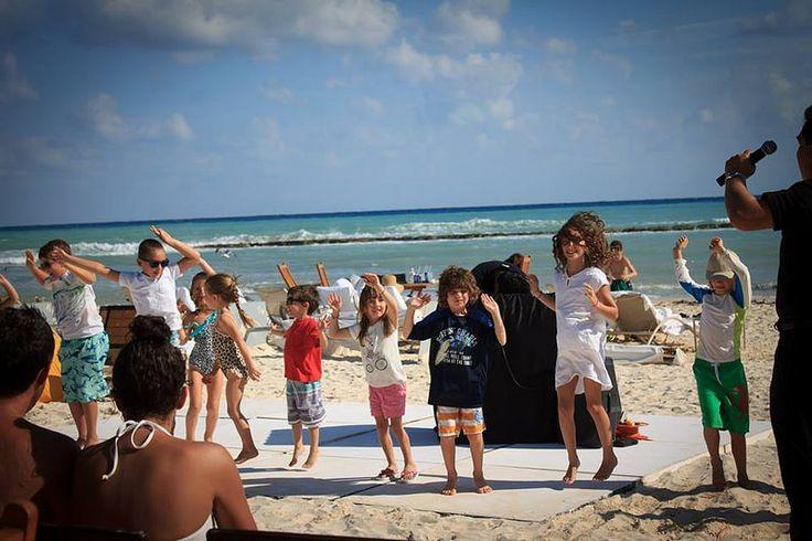 Пикник на пляже в Гранд Велас Ривьера-Майя! http://rivieramaya.grandvelas.com/russian/