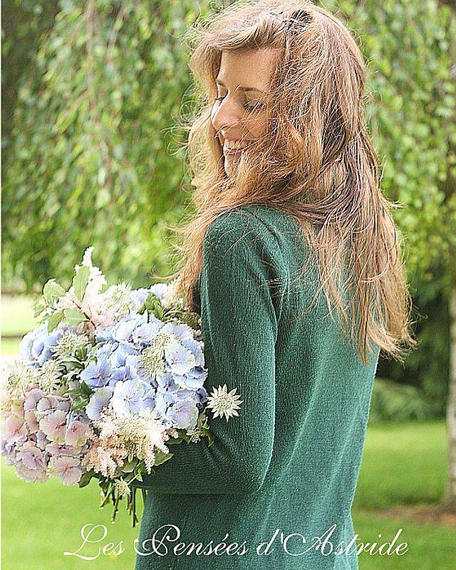 Bouquet d'Hortensia, Astilbe & Astrancia <3